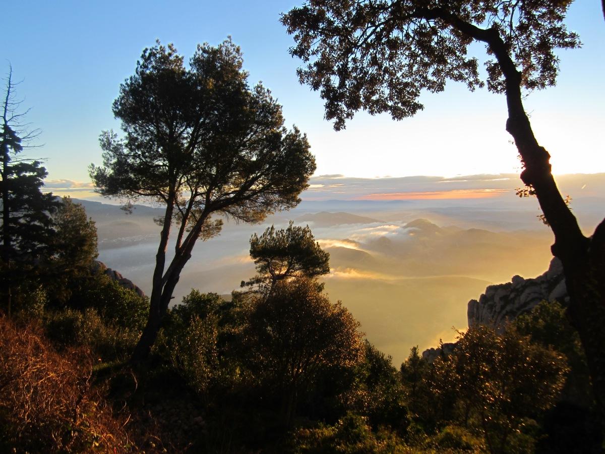 Montserrat bij Hut