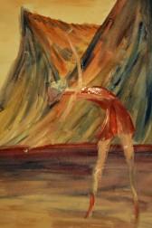 Als mijn fantasie steeds maar geen realiteit wordt, dan moet ik haar maar schilderen.